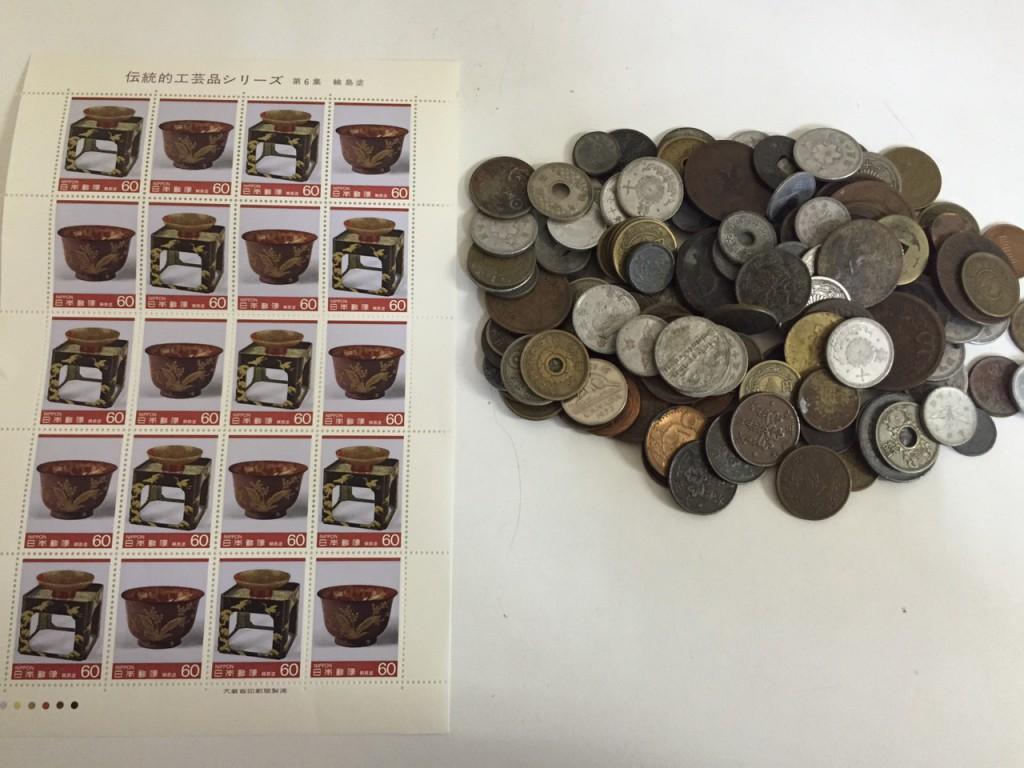 古銭、切手買い取り